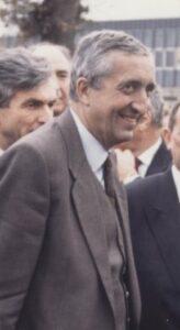 Jacques Calvet, le PDG du groupe PSA Peugeot