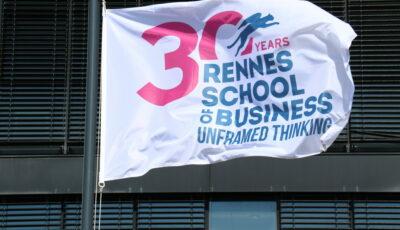 Rennes School of Business drapeau 30 ans
