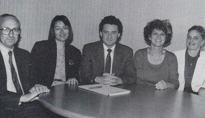 La première équipe de direction de Sup de Co Rennes