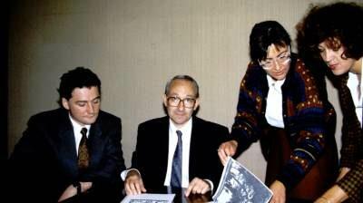 L'équipe de la direction Sup de Co en 1990